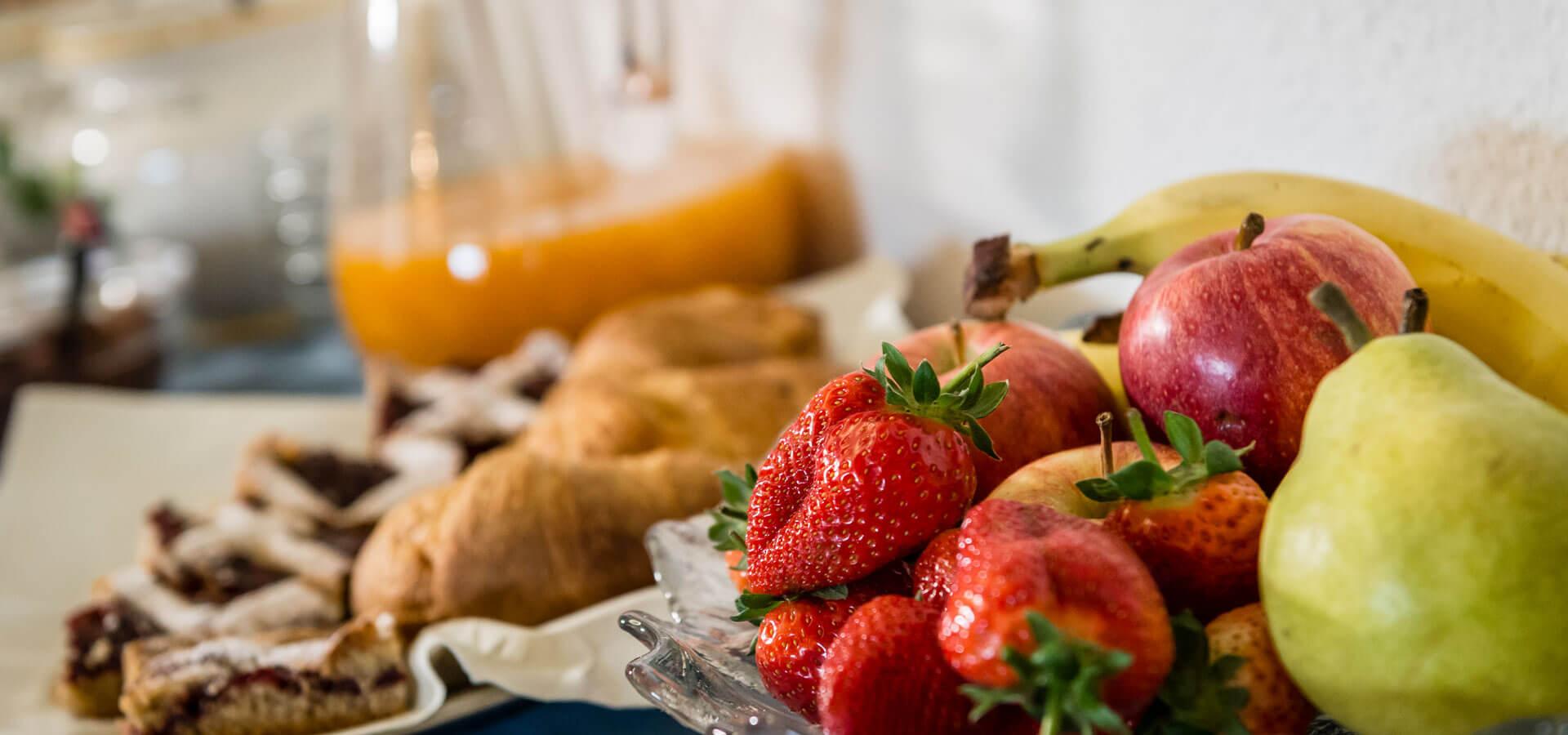 Frühstück Residence Treyer Terenten