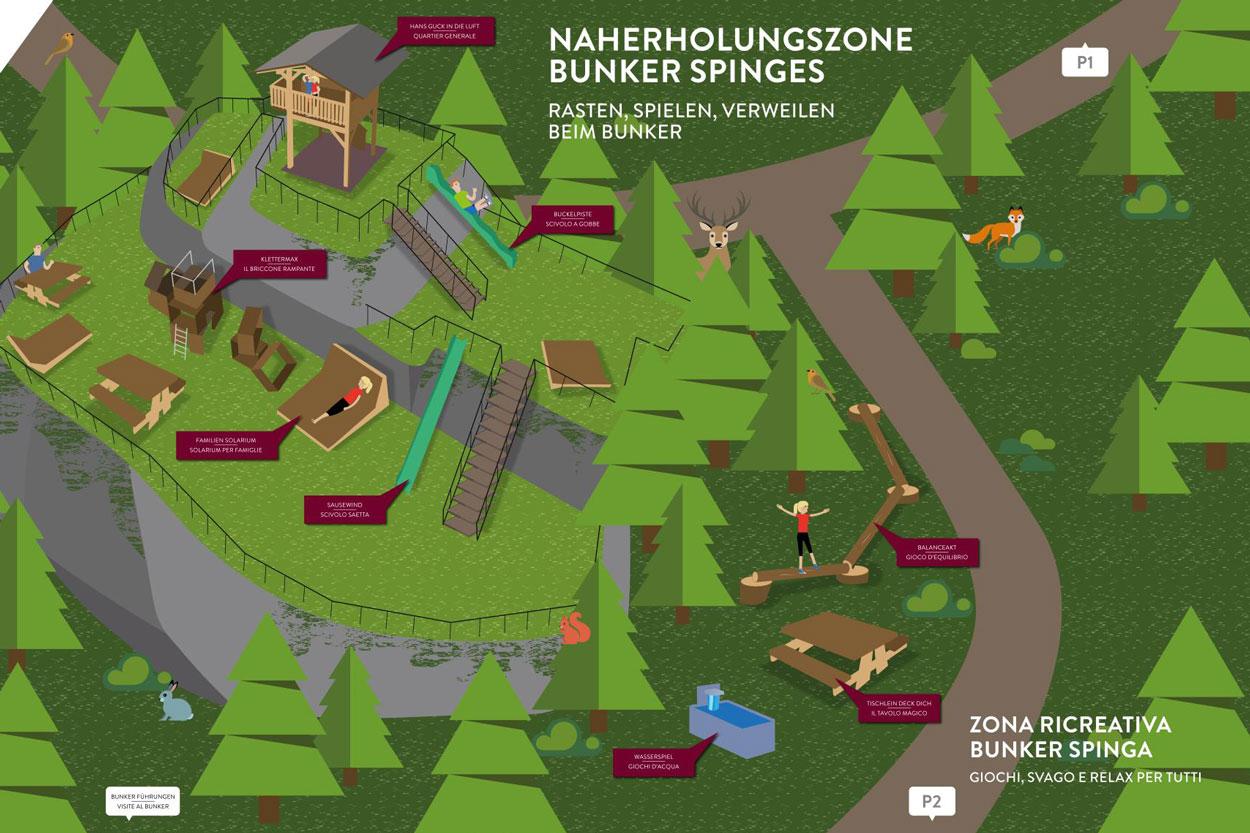 Naherholungszone Bunker Spinges