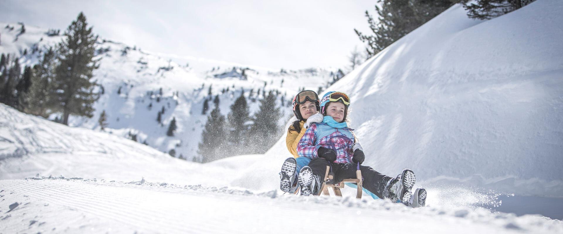 Aktivitäten im Winter in Terenten